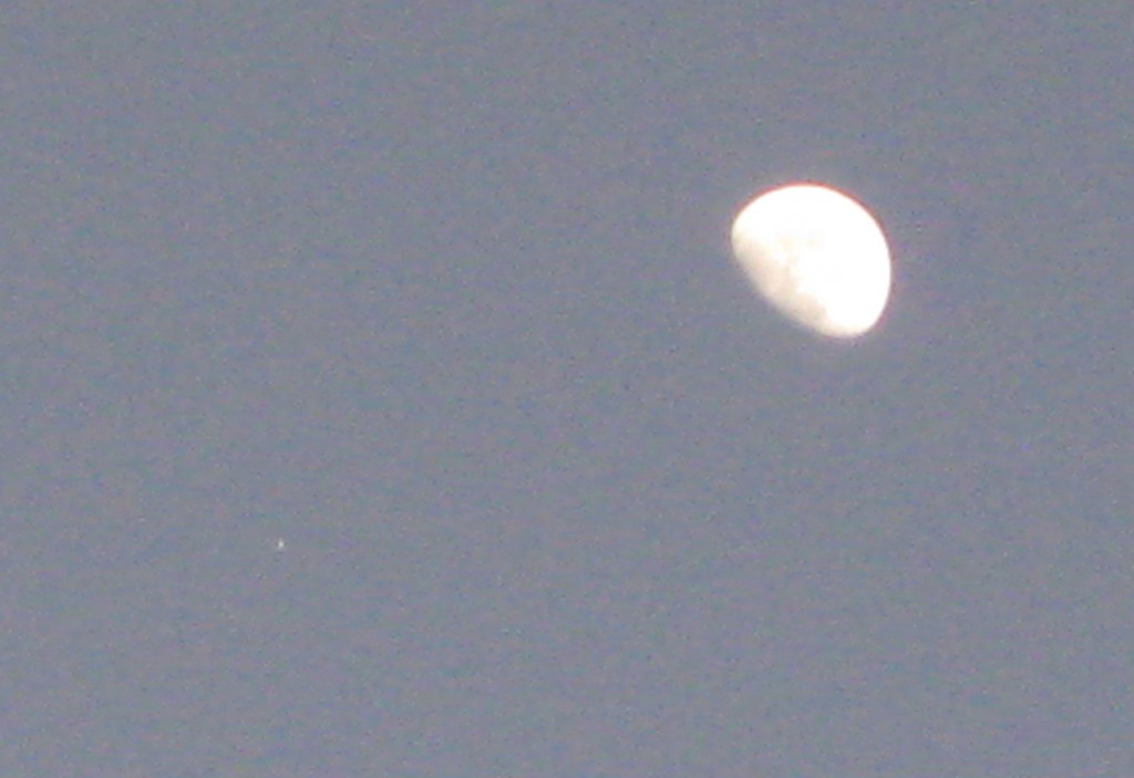 21 January 2013 Jupiter/Moon Conjunction -- Copyright (c) 2013 Robert D. Vickers, Jr.