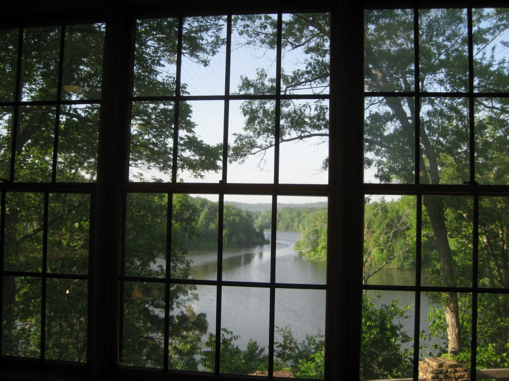 View from our favorite table at Pennyrile Lodge Restaurant - Copyright (c) 2014 Robert D. Vickers, Jr.