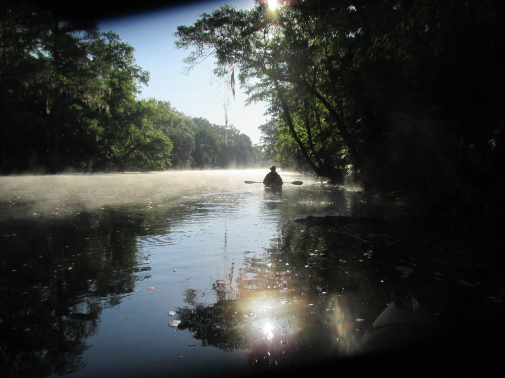 Mist on the Santa Fe River - © Copyright 2015 Robert D. Vickers, Jr.